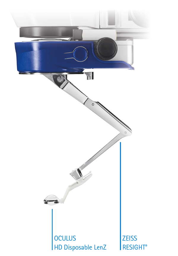 The HD Disposable LenZ on ZEISS RESIGHT®